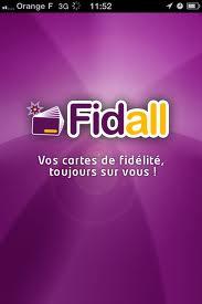 Application iPhone Fidall
