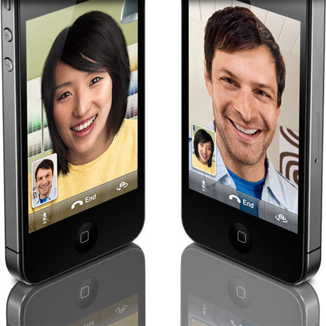 iPhone visiophone