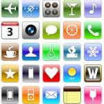 icônes iPhone