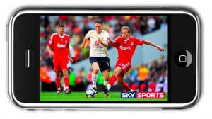 TV sur iphone