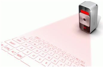 Magic Cube, clavier virtuel laser pour iPhone