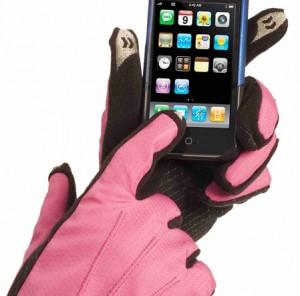 gants isotoner iPhone