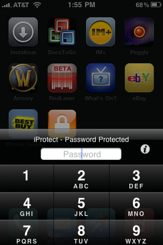 iProtect pour iPhone