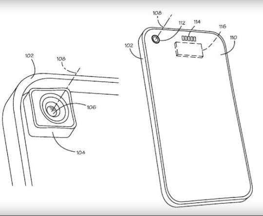 brevet objectifs interchangeables iPhone5
