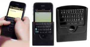 Clavier physique iTwinge pour iPhone