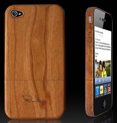 La coque pour iPhone en bois