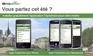 Trip Advisor pour iPhone