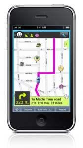 Waze pour iPhone