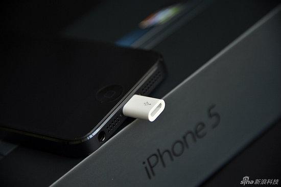 L'adaptateur micro USB pour iPhone 4 et iPhone 4 S