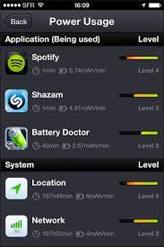 Repérer les applications qui dévorent la batterie